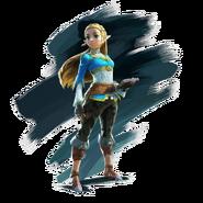 Zelda en The Legend of Zelda - Breath of the Wild