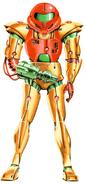 Artwork Samus en Metroid