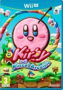 Caja de Kirby y el Pincel Arcoiris (Europa)