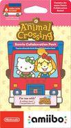 Embalaje americano de la serie de tarjetas de Animal Crossing x Sanrio