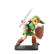 Amiibo Link niño - Serie Super Smash Bros.