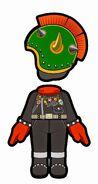 Atuendo de Bowser - Mario Kart 8