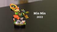 Presentación del amiibo de Min Min