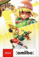 Embalaje NTSC del amiibo de Min Min - Serie Super Smash Bros.