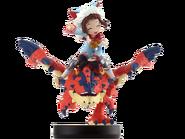 Amiibo Rathalos tuerto y Jinete (mujer) - Serie Monster Hunter