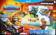 Skylanders SuperChargers - Starter Pack (Europa) (Wii U)