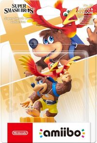 Embalaje europeo del amiibo de Banjo y Kazooie - Serie Super Smash Bros..jpg