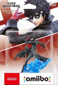 Embalaje europeo del amiibo de Joker - Serie Super Smash Bros..jpg