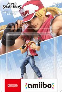 Embalaje europeo del amiibo de Terry - Serie Super Smash Bros..jpg