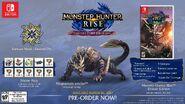 Imagen promocional de la Collector's Edition de Monster Hunter Rise en América