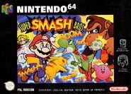 Caja de Super Smash Bros. (Europa)