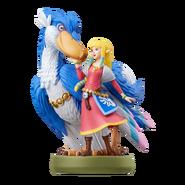 Amiibo Zelda y pelícaro - Serie The Legend of Zelda