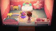 Etoile y algunos objetos temáticos de Little Twin Stars - Animal Crossing New Horizons