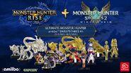 Imagen promocional del Ultimate Monster Hunter amiibo Sweepstakes -1 de My Nintendo en Norteamérica
