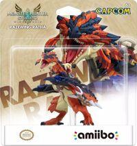 Embalaje americano del amiibo de Ratha Kalapteron - Serie Monster Hunter Stories.jpg