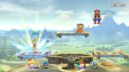 Combate entre dos amiibo - Super Smash Bros. Ultimate