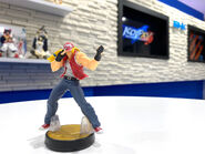 Imagen promocional de SNK Entertainment del amiibo de Terry