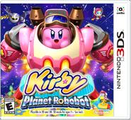 Caja de Kirby Planet Robobot