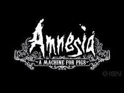 Amnesia A Machine for Pigs Trailer