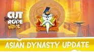 Cut the Rope Time Travel - Asian Dynasty Update