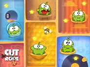 Cut The Rope-Om Nom HD Background