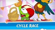 Om Nom Stories Around the world - Cycle Race