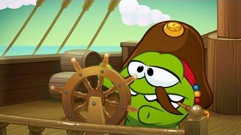 Om Nom Stories Pirate Ship (Episode 14, Cut the Rope Time Travel)