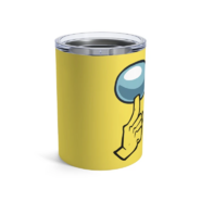 Yellow shhh 10oz tumbler