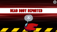 Red's body is reported