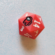 Single D20 Red