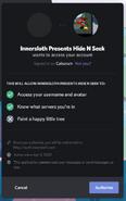 HideNSeek Connect to Discord
