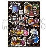 Halloween Sticker Sheet