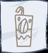 Buy Beverage almond milk paper