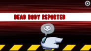 White's body is reported