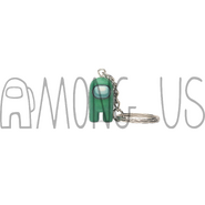 Green Crewmate Keychain