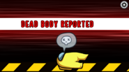 Yellow's body is reported