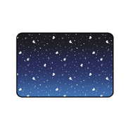 Spacemates in Blue desk mat