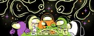 Halloween merchandise banner