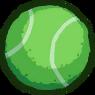Clean Vent tennis ball