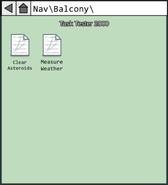 MIRA HQ Task Tester 2000 (Balcony)