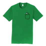 Green Mini Crewmate pocket tee