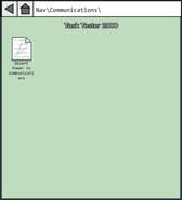 MIRA HQ Task Tester 2000 (Communications)