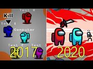 Evolution of Among Us 2017-2020
