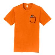 Orange Mini Crewmate pocket tee