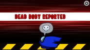 Blue's body is reported