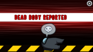 Black's body is reported
