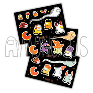 Trick-or-Treat Sticker Sheets