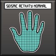 Seismic activity nominal
