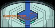 MIRA HQ Decontamination door