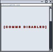 Comms Disabled Doorlog
